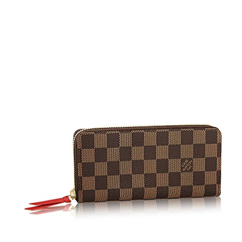 593ba3fadbcd Louis Vuitton Damier Ebene Canvas Clemence Wallet N60534. Return to  Previous Page. lightbox