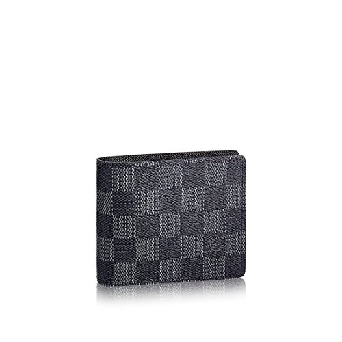749062ad702d Louis Vuitton Damier Graphite Canvas Slender Wallet N63261. Return to  Previous Page. lightbox