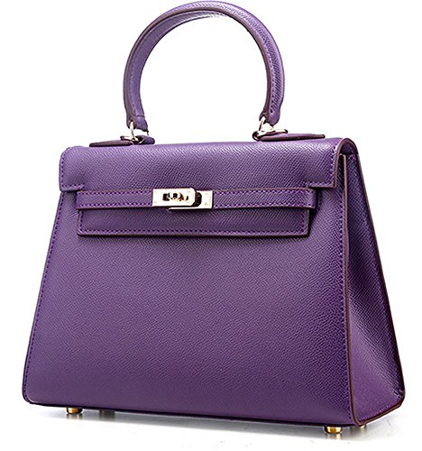 45334acab89 Ainifeel Women s Padlock Shoulder Handbags (Purple). Return to Previous  Page. lightbox