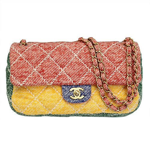 Chanel Women s Multicolor Jersey Flap Chain Shoulder Bag A90718. Return to  Previous Page. lightbox 4ef66a88b8